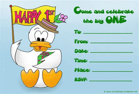 kid birthday invitation card template birthday invite template birthday invitations