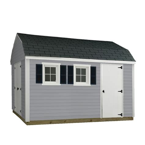 Sheds Usa Consumer Reviews by Sheds Usa 10 Ft X 12 Ft Installed Vinyl Horizon V1012h The Home Depot
