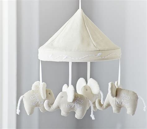 Pottery Barn Crib Mobile by Elephant Crib Mobile Pottery Barn