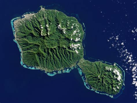 imagenes satelitales birdseye tahiti french polynesia image of the day