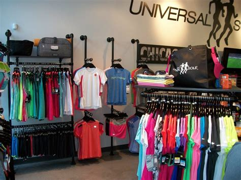 Display Apparel On Showroom Floors - retail clothing racks at universal sole