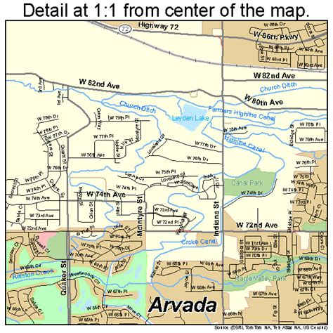 arvada colorado usa map arvada colorado map 0803455