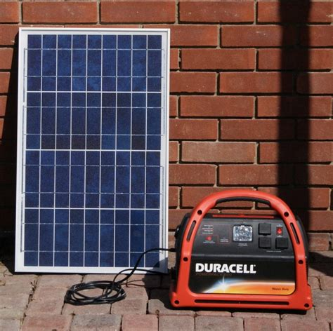 solar powered kit going green with reuben portable solar generator n play kit 30 watt