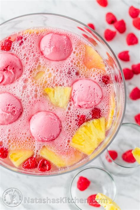 7up fruit punch raspberry sherbet punch sorbet punch punch