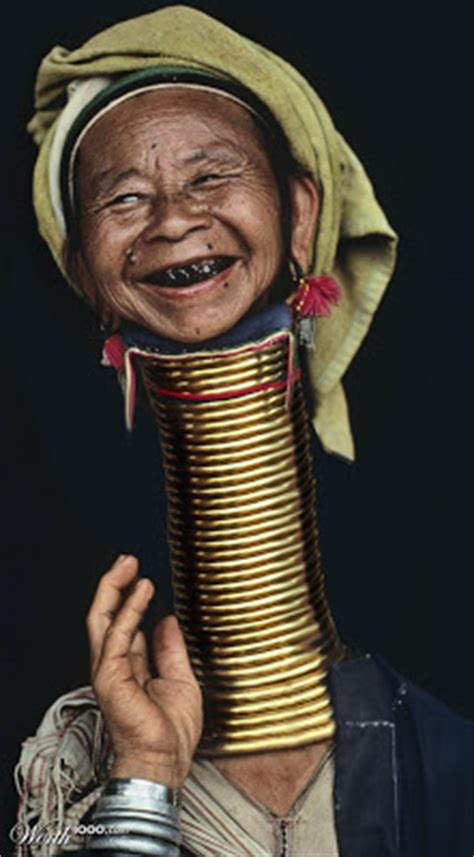 strange beauty long necks and thailand women
