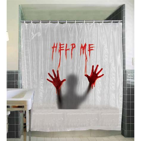 Shower Me by Help Me Shower Curtain Buycostumes