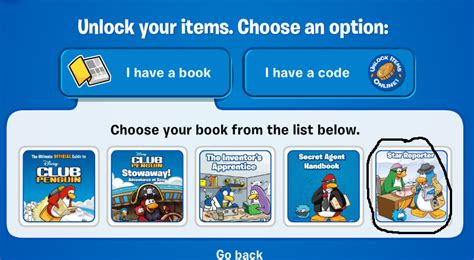 Reporter Club Penguin Book Codes by Club Penguin Reporter Book Codes Club Penguin Cheats