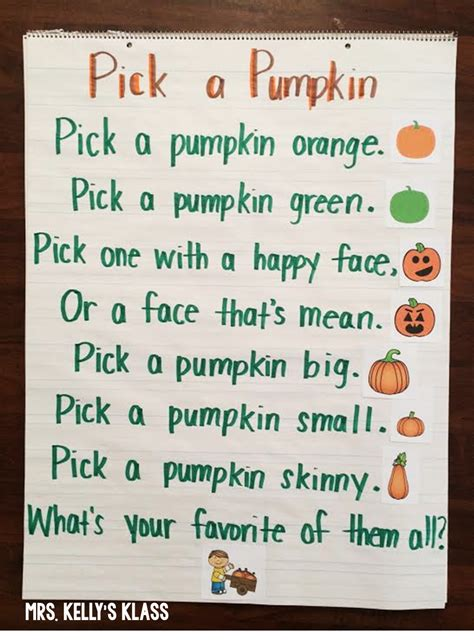 pumpkin poems mrs s klass cross curricular pumpkin