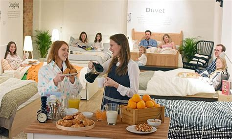 food in the bedroom the ikea breakfast in bed cafe opens in shoreditch daily mail online
