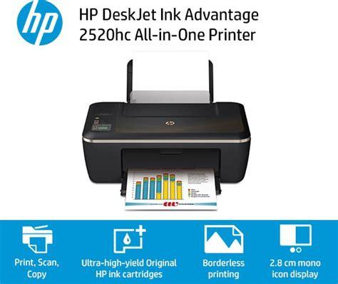 hp deskjet ink advantage 2520hc all in one printer hp