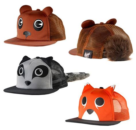 neff animal adjustable hat dresses your in cartoonish