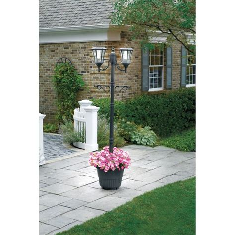 Post Planters by Sunergy Solar L Post With Planter Base 50400356