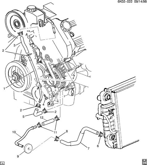 northstar cooling system diagram 1998 cadillac generator cooling system
