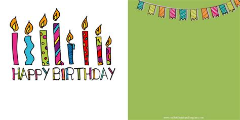 bday templates free printable gift certificate templates birthday images