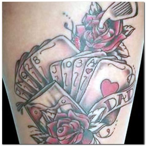 the design ideas gambling tattoo designs