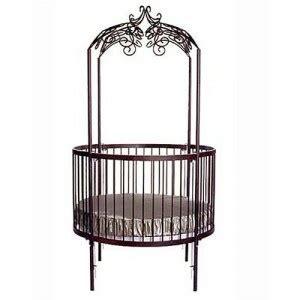 Round Baby Crib Baby Nursery Pinterest Other Circular Baby Crib