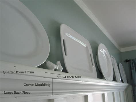 How To Trim Rack Of by Dining Trim Tuturial Plate Rack