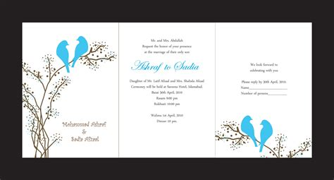 layout of a wedding card wedding cards romantic decoration
