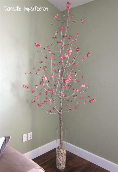 how to make a fake tree dead tree fake flower awesomeness domestic imperfection