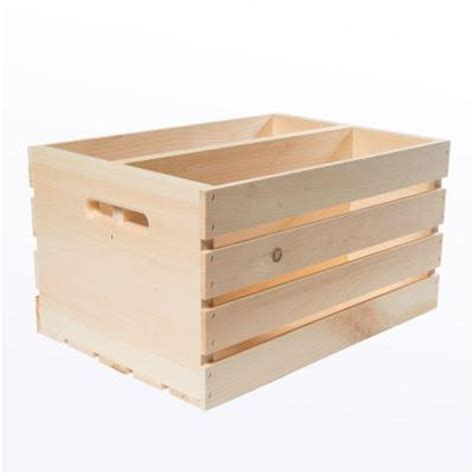 houseworks crates and pallet 18 in x 12 5 in x 9 5 in
