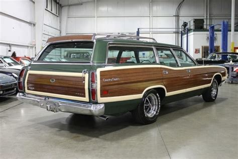 green ford station wagon 1971 ford ltd station wagon hemmings motor news ford