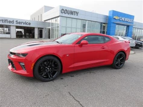 2017 camaro 2ss red hot youtube