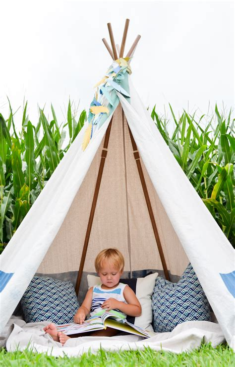 kids teepee diy no sew teepee project nursery