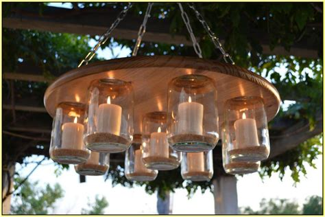 Outdoor Electric Chandelier Outdoor Candle Chandelier Non Electric Light Fixtures Design Ideas
