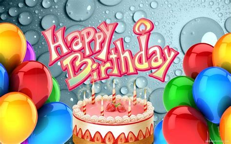 wallpaper bergerak happy birthday happy birthday wallpapers free wallpaper cave