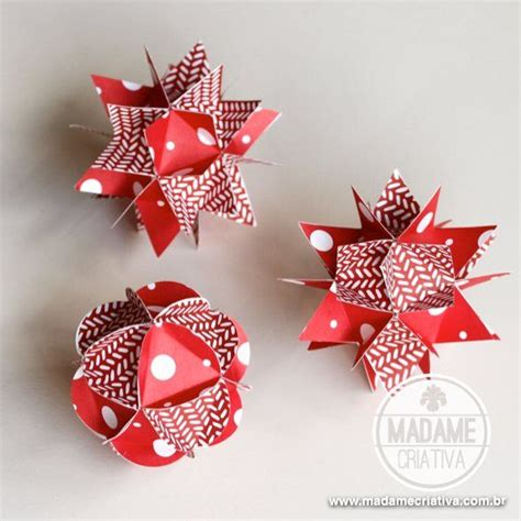Make Paper Balls - diy tutorial how to make paper balls madame criativa