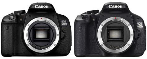 Kamera Canon 600d Dan 650d setelah baru baru ini dirilis nya kamera slr canon eos