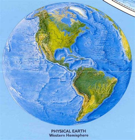 maps world map western hemisphere
