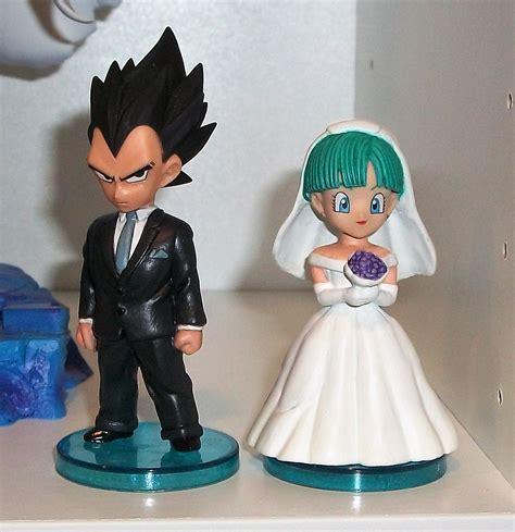 gohan videl vegeta wedding wcf customs figures toys gashapons