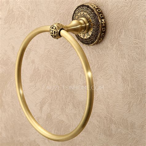 Bathroom Towel Rings by Quality Antique Bronze Designer Bathroom Towel Rings