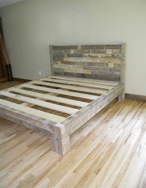 do it yourself bed frames 1000 ideas about diy bed frame on pallet