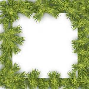 christmas tree frame vector free download