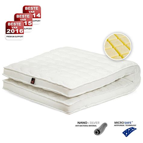 Springbed The Luxe Mattress Reveire Gold 180x200 matras topper 180x200 free boxspring set beige x with matras topper 180x200 fabulous dreamzone