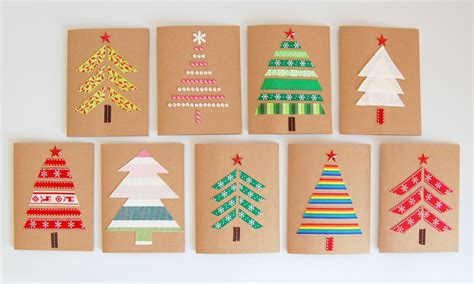 Craft Paper Cards - diy cards northstory