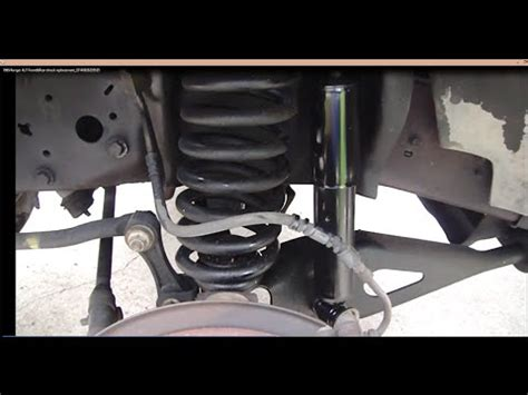 replace ford ranger shocks youtube
