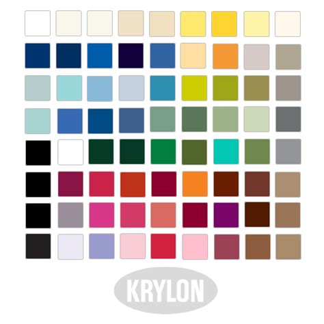krylon paint color chart pictures to pin on pinsdaddy