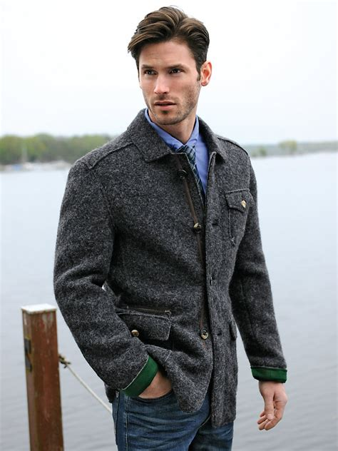 country style jacket steinbock country style jacket anthracite m 233 lange
