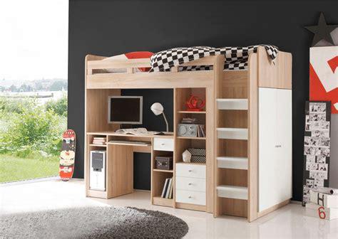 bureau enfant 3 suisses ensemble lit mezzanine avec bureau penderie 233 tag 232 re