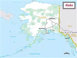 road map alaska usa large road map of alaska alaska large road map vidiani maps of all countries in one place