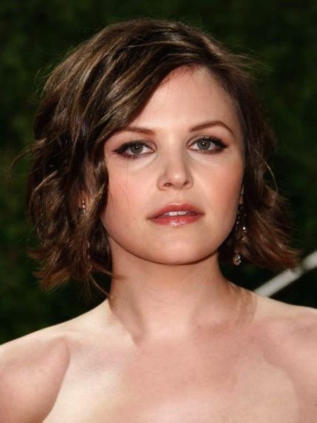 Short Hairstyles and Cuts   Ginnifer Goodwin Short Tousled