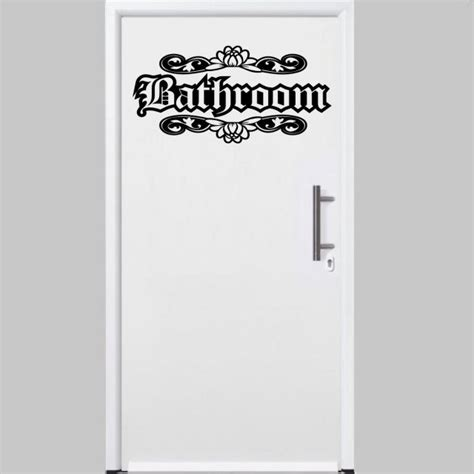 bathroom door stickers designer bathroom door wall ornamental sticker wall stickers store uk shop