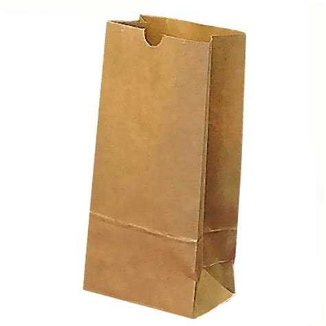 A Paper Bag - paper lunch bag 9 x 5 quot kraft brown lot of 100 ebay