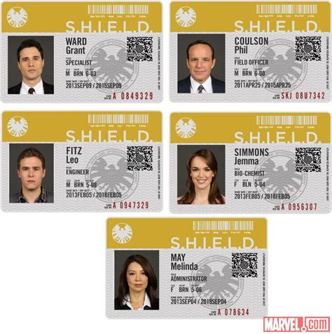 Shield Id Card Template by Marvel Shield Badge Template Www Imgkid The Image