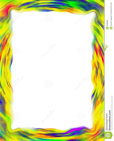 Abstrak Polkadot Butterfly colorful frame border stock illustration illustration