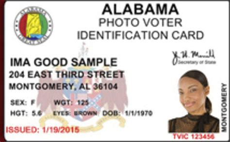 alabama id card template free voter photo ids coming to trimble july 1 news