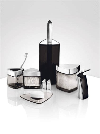 Modern Bathroom Set For Bachelor By Stelton Home Modern Bathroom Accessory Sets